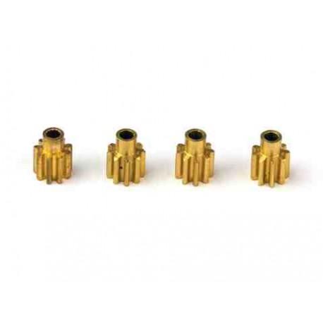 EK1-0352 - 4 X Pignons 10 dents belt cp pour Bushless