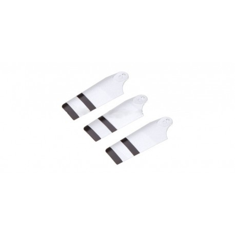 HM-4F200LM-Z-02S - Tail Blade (Silver) for 4F200LM