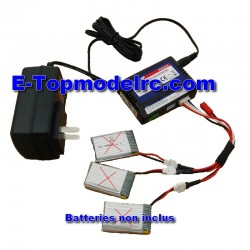 WK-GA005-AE057 - Kit Charg/Balance + cable adaptateur 3 batteries
