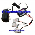 WK-GA005-AE057 - Kit Charg-Balance + cable adaptateur 3 batteries