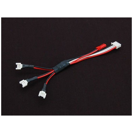 AE057 - Cable adaptateur 3 batteries 3.7V Walkera