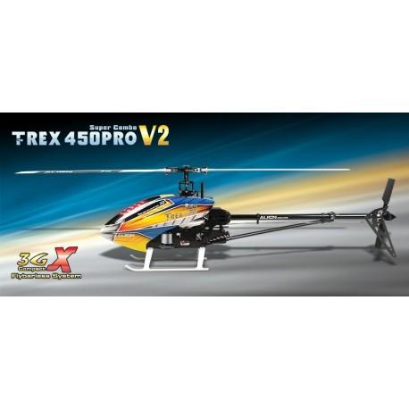 KX015080T - T-Rex 450 PRO 3GX Super Combo