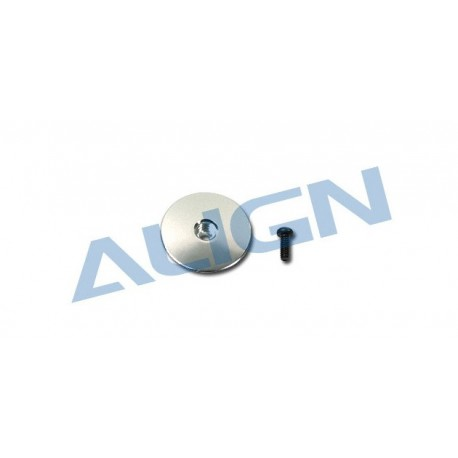 H25005QF - Metal Head Stopper/Silver